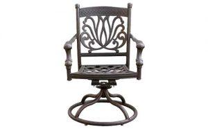 Ariana Swivel Dining Chair