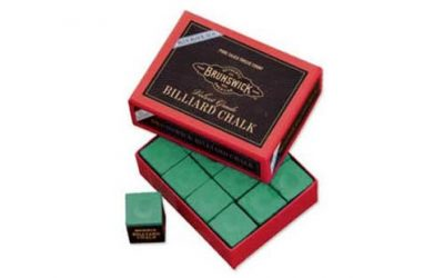 Billiard Chalk-12 piece, Green
